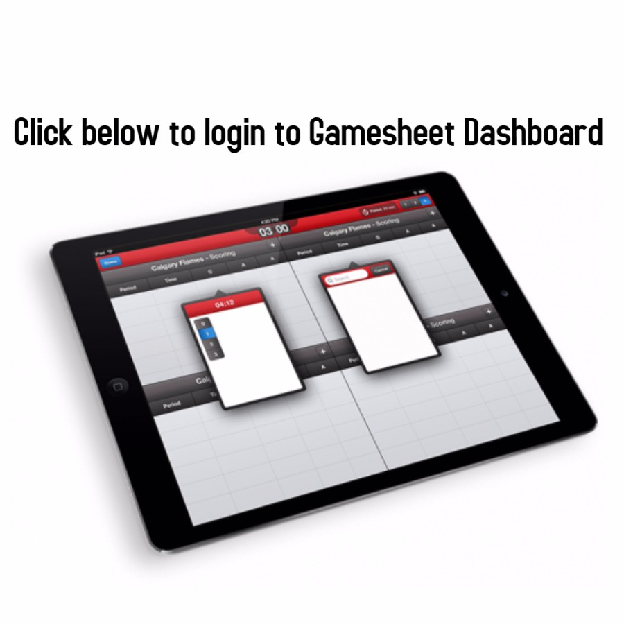 Game Sheet Dashboard