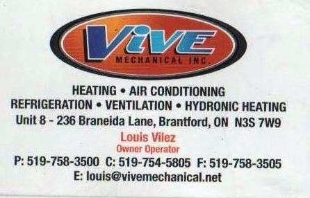 VIVE Mechanical Inc.